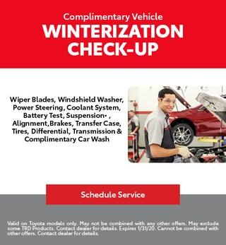 Winterization Check