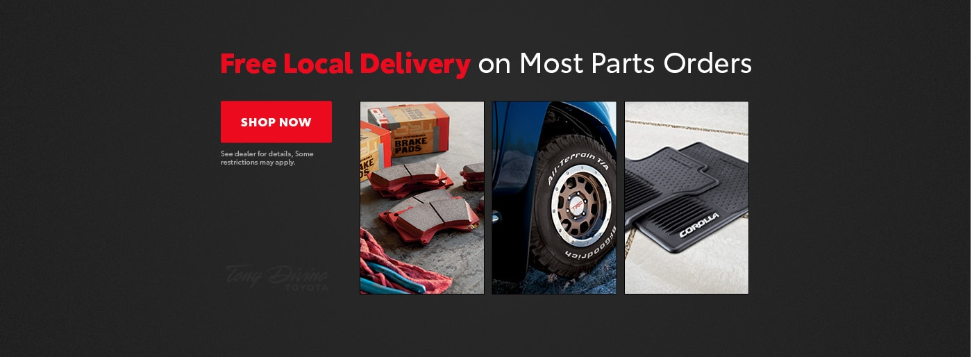 Genuine Toyota Parts >> Toyota Parts Accessories Riverdale Ut Dealership Order Form At Tony