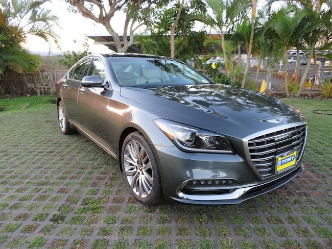 New 2018 Genesis G80 5.0 Ultimate Sedan Waipahu, Hawaii