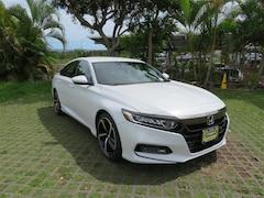 New 2018 Honda Accord Sport Sedan near Honolulu