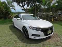 New 2018 Honda Accord Sport Sedan 1HGCV1E30JA220839 near Honolulu
