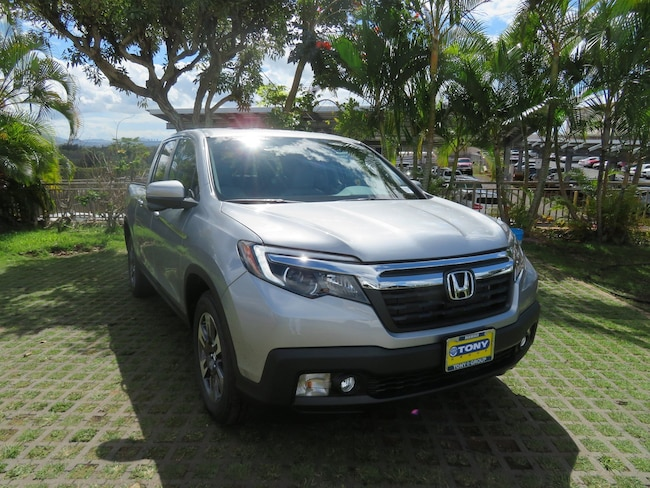 New 2019 Honda Ridgeline RTL-T FWD Truck Crew Cab near Honolulu