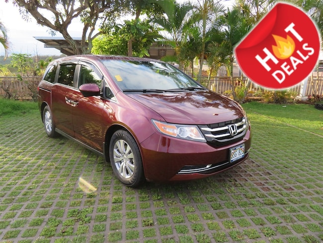 Certified Pre-owned 2016 Honda Odyssey EX-L Van Passenger Van near Honolulu