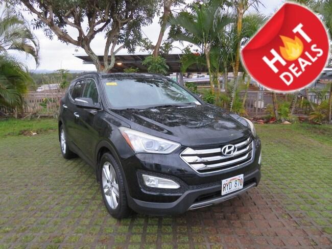 Used 2013 Hyundai Santa Fe 2.0T Sport SUV PH11936A Waipahu, Hawaii