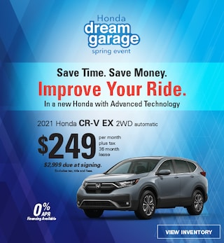 2021 CR-V LX 2WD Lease, ends 5/3/21
