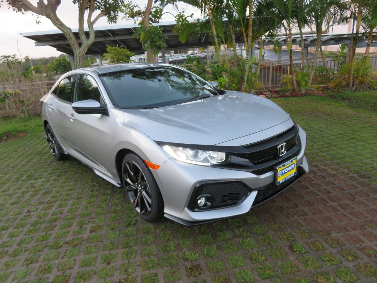 2019 Honda Civic Hatchback Sport Hatchback