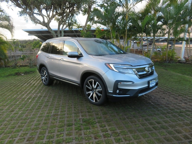 New 2019 Honda Pilot Touring 8-Passenger FWD SUV near Honolulu