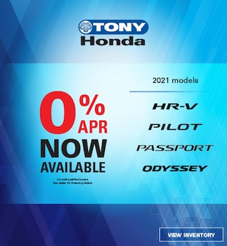0% APR Financing Now Available