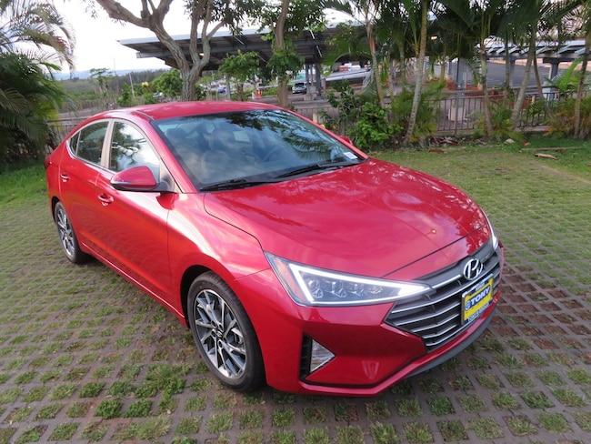 New 2019 Hyundai Elantra Limited For Sale In Waipahu Hi Vin