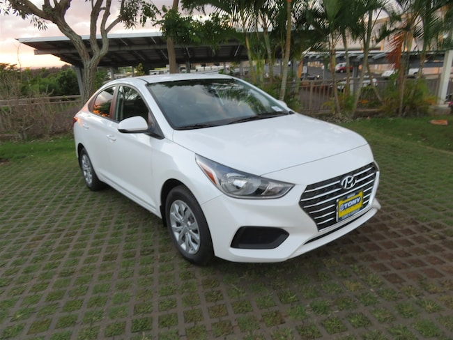 New 2019 Hyundai Accent SE Sedan in Honolulu