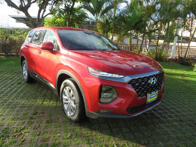 New 2019 Hyundai Santa Fe SEL SUV in Honolulu