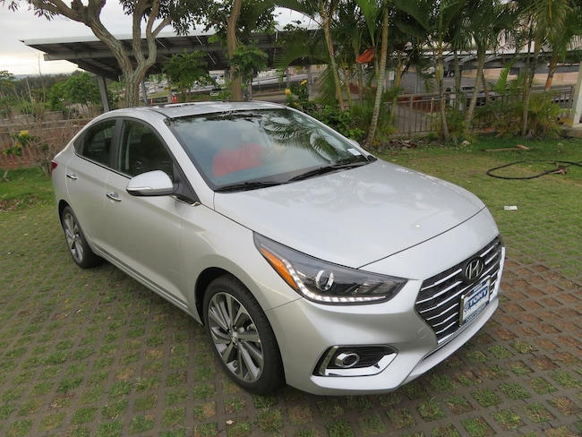 New 2019 Hyundai Accent Limited Sedan Waipahu, Hawaii