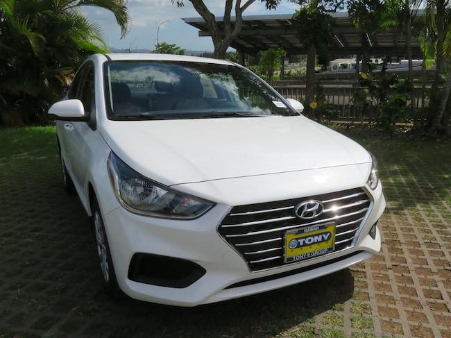 New 2019 Hyundai Accent SE Sedan Waipahu, Hawaii