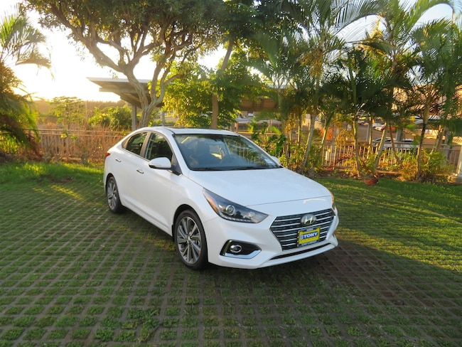 New 2019 Hyundai Accent Limited Sedan Waipahu, Hawaii