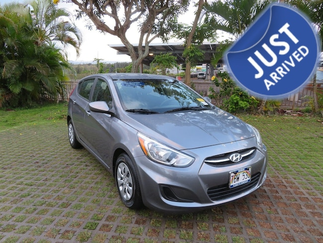 Certified Used 2017 Hyundai Accent SE Hatchback PY65429 in Waipahu