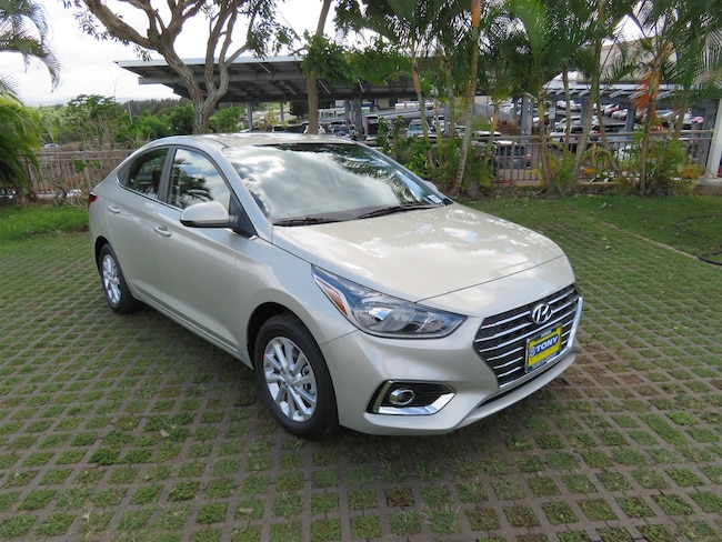 New 2019 Hyundai Accent SEL Sedan Waipahu, Hawaii