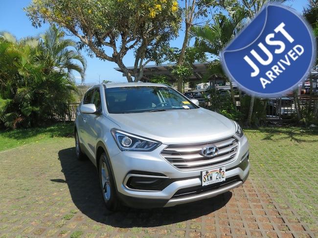 Certified Used 2017 Hyundai Santa Fe Sport 2.4L SUV PY65432 in Waipahu
