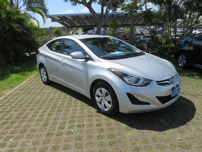 Certified Used 2016 Hyundai Elantra SE Sedan PY65411 in Waipahu