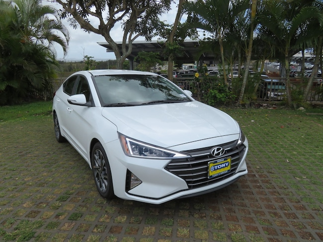 New 2019 Hyundai Elantra Limited Sedan Waipahu, Hawaii