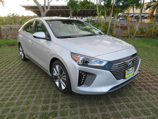 New 2019 Hyundai Ioniq Hybrid Limited Hatchback in Honolulu