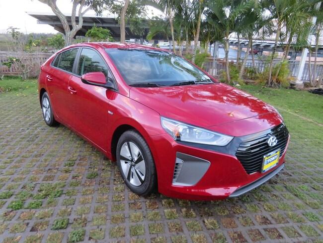 New 2019 Hyundai Ioniq Hybrid Blue Hatchback Waipahu, Hawaii