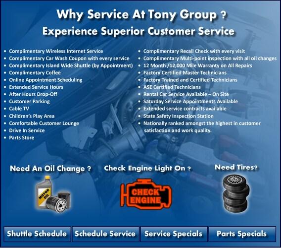 Hyundai Repair & Service in Waipahu, Hawaii | Tony Hyundai