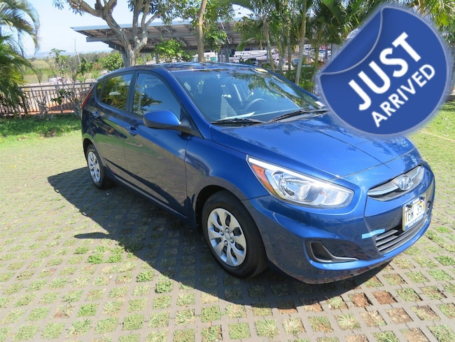 Certified Used 2017 Hyundai Accent SE Hatchback PY65430 in Waipahu