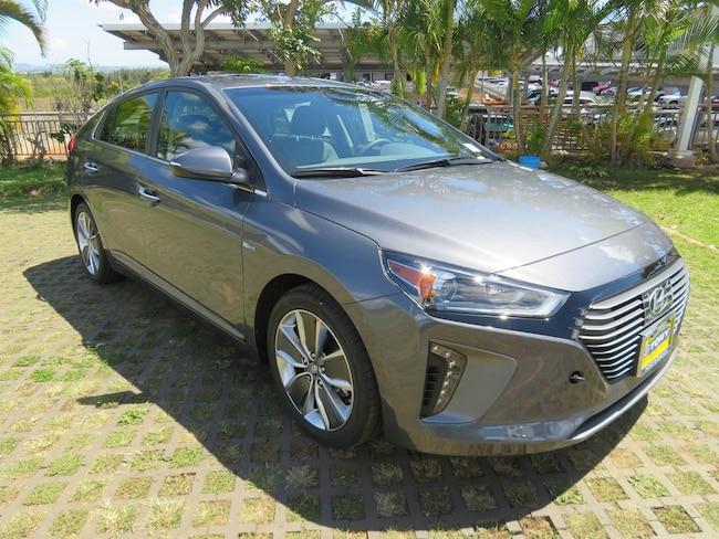 New 2019 Hyundai Ioniq Hybrid Limited Hatchback Waipahu, Hawaii