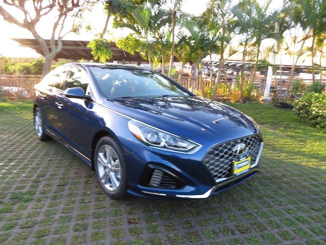 New 2019 Hyundai Sonata Sport Sedan Waipahu, Hawaii