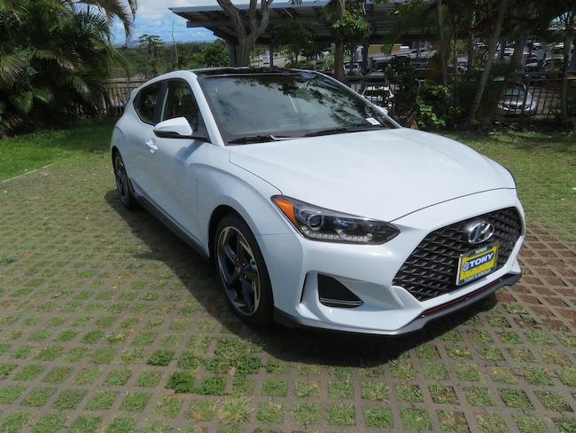 New 2019 Hyundai Veloster Turbo Hatchback Waipahu, Hawaii