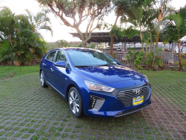 New 2019 Hyundai Ioniq Hybrid Limited Hatchback Waipahu, Hawaii
