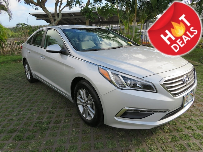 Certified  2015 Hyundai Sonata 2.4L SE Sedan  in Honolulu