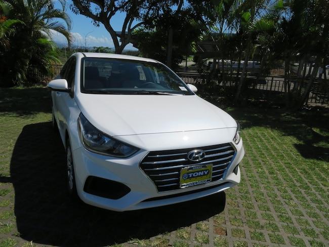 New 2019 Hyundai Accent SE Sedan in Honolulu