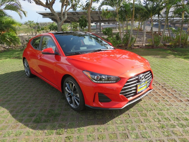 New 2019 Hyundai Veloster 2 0 Premium For Sale in Waipahu HI | VIN:  KMHTG6AF4KU015204