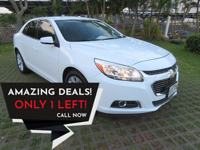 Used 2015 Chevrolet Malibu For Sale at Tony Hyundai Waipio | VIN:  1G11D5SL0FF206155