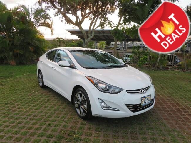 Used 2014 Hyundai Elantra Limited Sedan in Honolulu