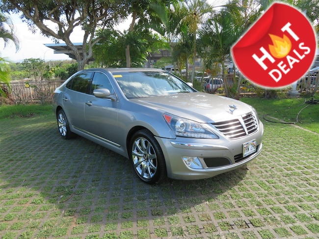 Used 2012 Hyundai Equus Signature Sedan in Honolulu