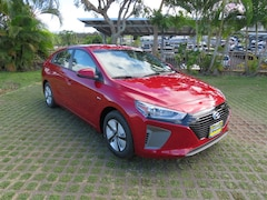 New 2019 Hyundai Ioniq Hybrid Blue Hatchback KMHC65LC0KU110455 in Waipahu