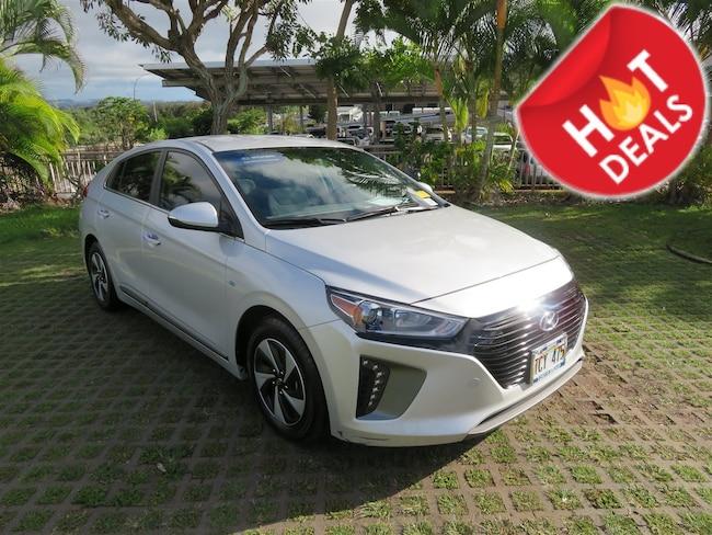 Used 2017 Hyundai Ioniq Hybrid SEL Hatchback PY65284 Waipahu, Hawaii
