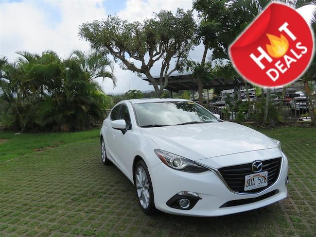 Used 2014 Mazda Mazda3 s Grand Touring Hatchback Y190229A Waipahu, Hawaii