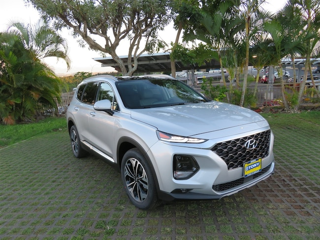 New 2019 Hyundai Santa Fe Limited SUV Waipahu, Hawaii