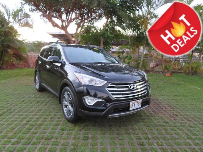 Certified  2015 Hyundai Santa Fe Limited SUV  in Honolulu