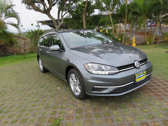 New 2018 Volkswagen Golf SportWagen SE Wagon in Honolulu Area