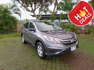 Used 2016 Honda CR-V LX SUV 3CZRM3H32GG702980 near Honolulu