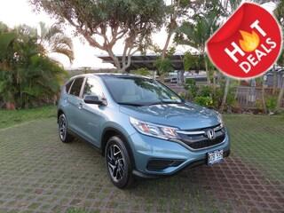 Used 2016 Honda CR-V SE SUV 2HKRM3H41GH556061 near Honolulu