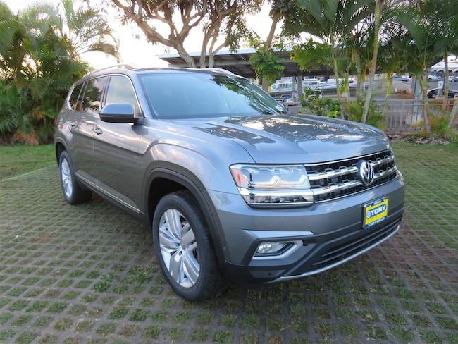 New 2019 Volkswagen Atlas 3.6L V6 SEL Premium SUV in Honolulu Area