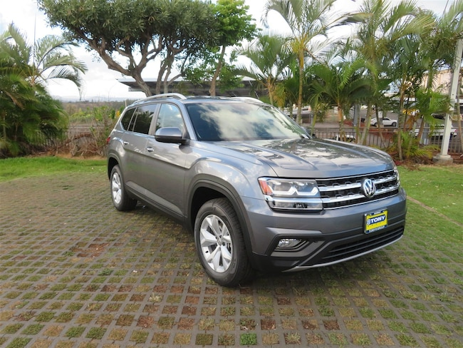 New 2018 Volkswagen Atlas 3.6L V6 SE with Technology SUV in Honolulu Area