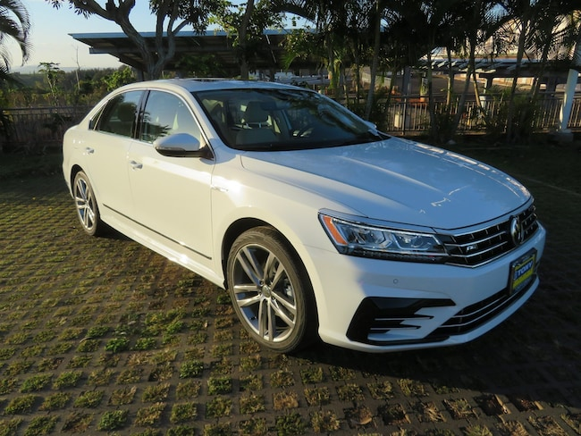New 2019 Volkswagen Passat 2.0T SE R-Line Sedan in Honolulu Area