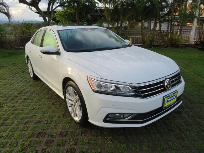 New 2018 Volkswagen Passat 2.0T SE with Technology Sedan in Honolulu Area