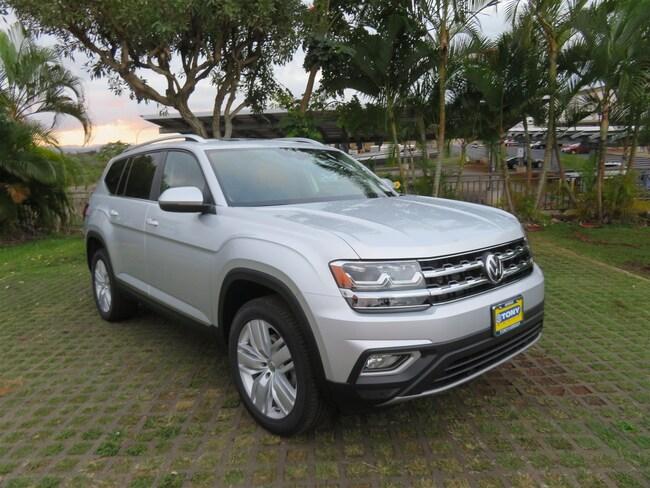 New 2019 Volkswagen Atlas 3.6L V6 SEL SUV in Honolulu Area